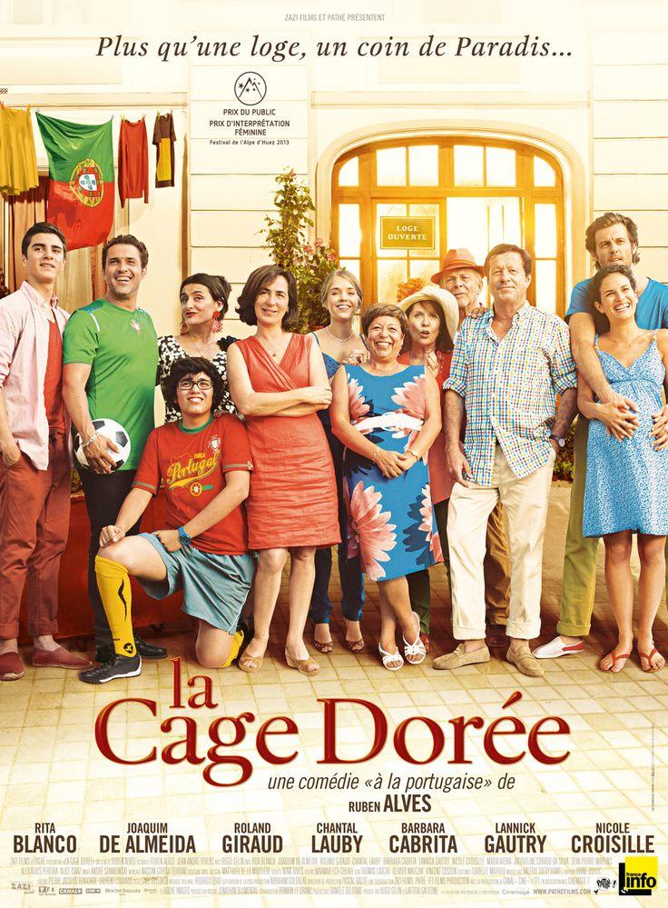 La Cage Dorée est un film de Ruben Alves avec Rita Blanco, Joaquim de Almeida. Synopsis : Dans les beaux quartiers de Paris, Maria et José Ribeiro vivent depuis bientôt trente ans au rez-de-chaussé...