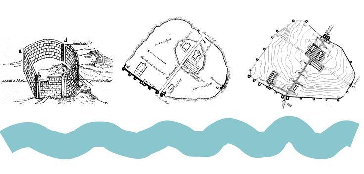 După îndepărtarea asediului şi finalizarea luptei, cetatea Tropaeum Traiani este reparată. În metopele columnei este reprezentata o fortificaţie al cărui plan seamănă izbitor cu zidul de incintă al fortificaţiei romane timpurii de la Tropaeum Traiani, ridicată după incendierea aşezării getice, fapt ce s-a petrecut între anii 85-86 e.n.