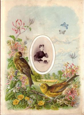 British Paintings: August page from a Victorian photograph album
