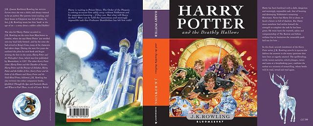 @BuanaTRI: Buku Harry Potter And The Deathly Hallows