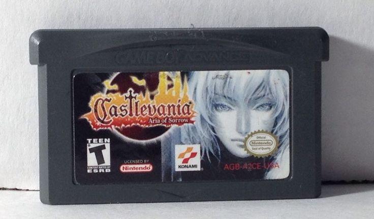 Castlevania Aria of Sorrow Nintendo Game Boy Advance | eBay