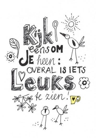Bekijk de foto van HGheelgewoon met als titel Kijk eens om je heen! en andere inspirerende plaatjes op Welke.nl.