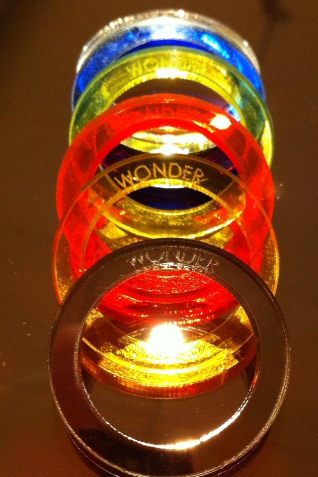 Rings Wonder color Plex flou