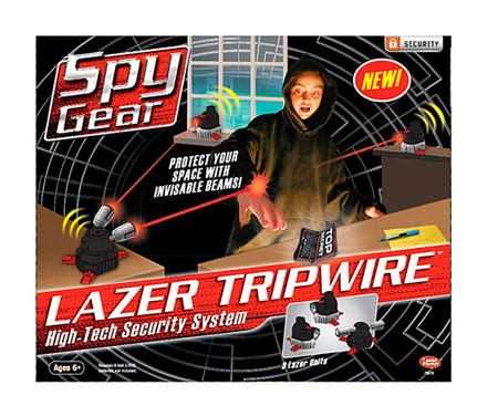 Spy Gear - Lazer Tripwire by Wild Planet Entertainment, Inc. by Toysmith - $27.95