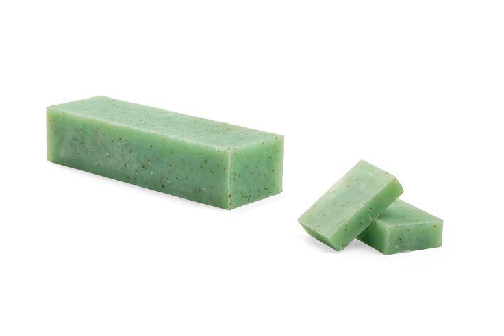 Jabón natural germen de trigo Goccia verde. Fotografía: Kinoki studio