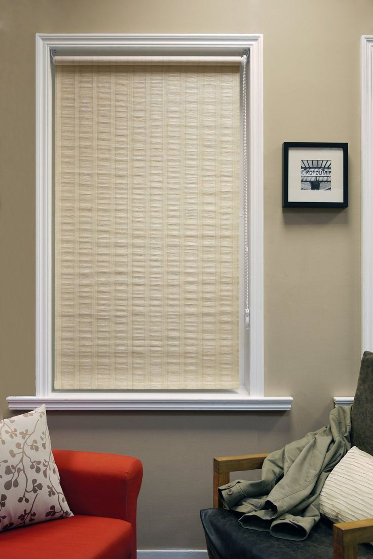 36 inch window blinds - Chicology 36 Inch By 64 Inch Florence Roller Shade Maize