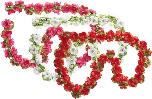 Leuke bloemenslingers om je fiets op te fleuren. Prijs: € 7,99