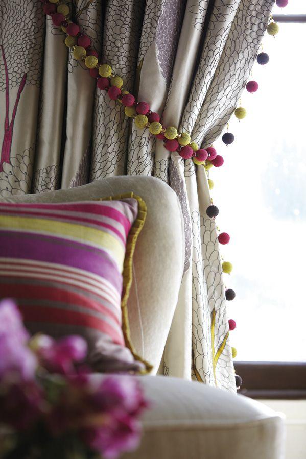 Fabric from Harlequin, Arabella Trimmings, Goodrich