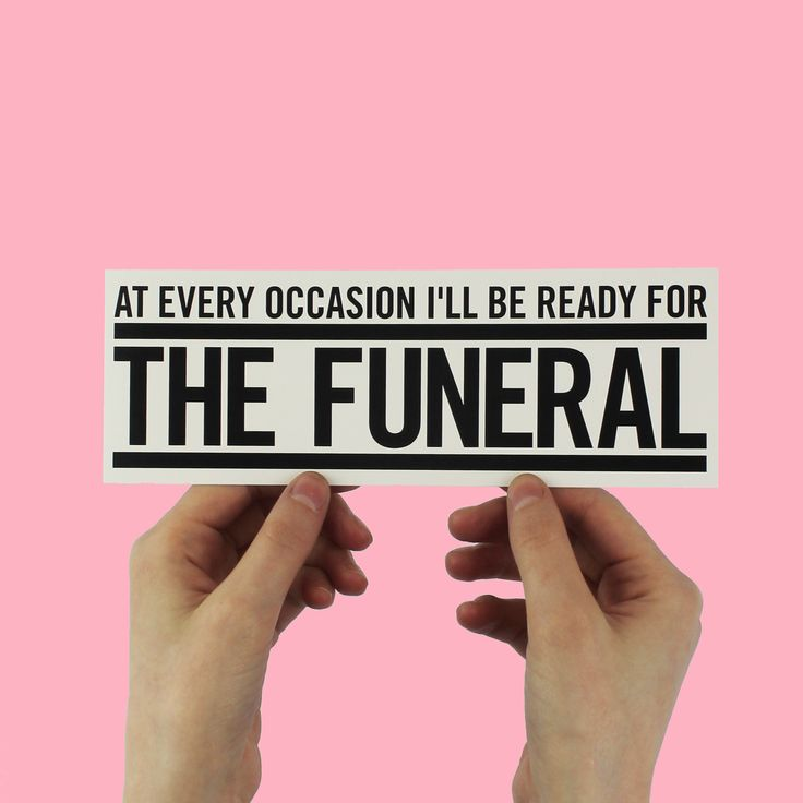 Band of horses the funeral lyric bumper sticker funeral horse and songs