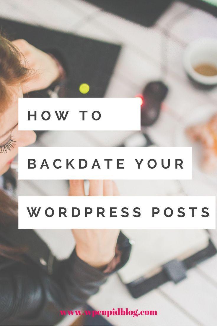Backdating blog posts seops