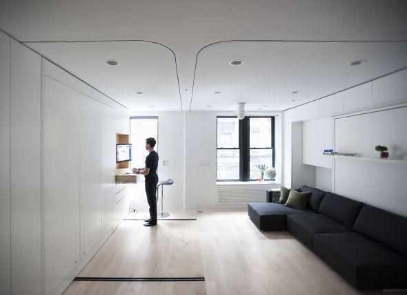 Un apartamento de 40 metros cuadrados desafía las leyes del espacio - Noticias de Arquitectura - Buscador de Arquitectura