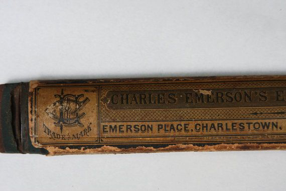 Elastic RAZOR STRAP Charles Emerson Charlestown by VintageSupplyCo