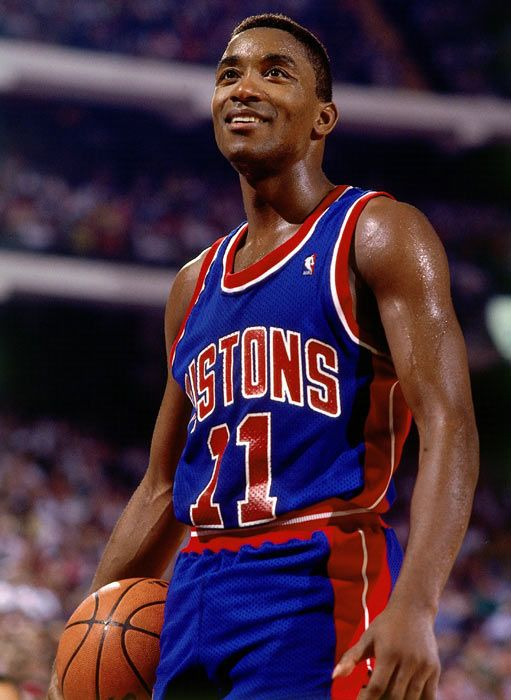 This Day In NBA History: 1961 - Hall of Fame player Isiah Thomas, a twelve-time NBA All-Star and twice the All-Star Game MVP, is born in Chicago, Illinois. keepinitrealsports.tumblr.com keepinitrealsports.wordpress.com