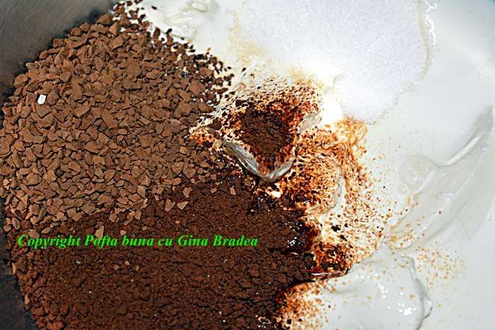 Crema rapida cu mascarpone, ness sau cacao