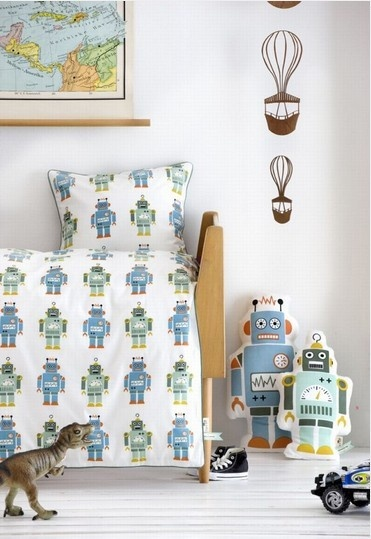 ferm LIVING  - Sengesett Roboter
