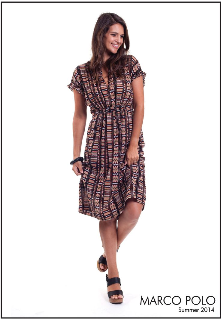 A Summer wardrobe must have!! Our beautiful Ceramic Print Dress has hit stores and selling fast. Style it up, or dress it down this dress is perfect for any occasion. Please call 03 9902 5100 to locate your nearest stockist (Style Number: 14S941601M)