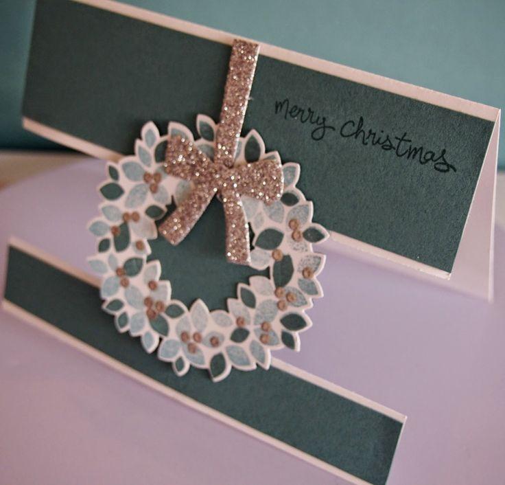 Die 71 besten Ideen zu Wondrous Wreath stampin up auf Pinterest ...