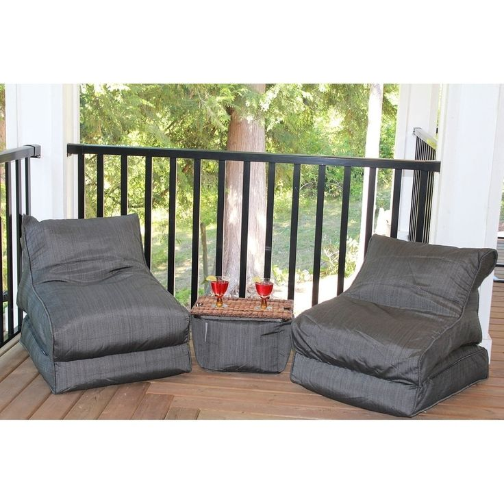Lounger Set - 5 piece - Bean Bag Chair