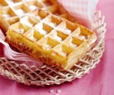 Recette Pâte à gaufres par thermomix - recette de la catégorie Pains & Viennoiseries