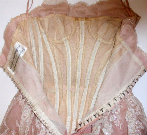 Christian Dior, for Holt Renfrew, Circa 1950s, Pink Lace Dress | From a collection of rare vintage evening dresses at http://www.1stdibs.com/fashion/clothing/evening-dresses/