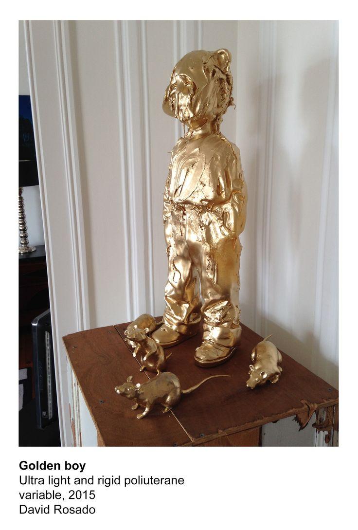 Golden boy Sculpture 2015