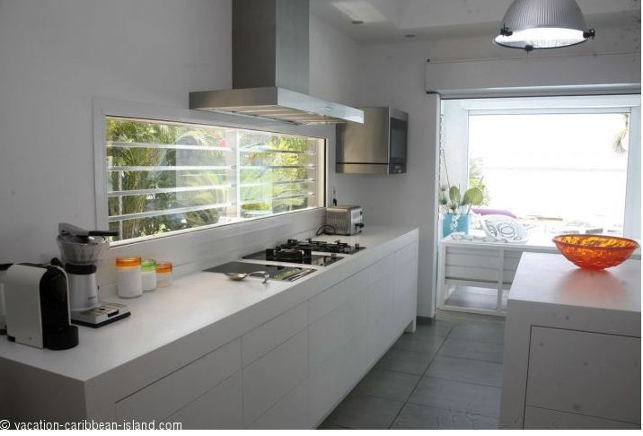Spend a stunning holiday trip in #Guadeloupe with lots of fun and entertainment. Have facility for self cooking in a furnished kitchen with fridge, oven and microwave, hob (4 electric rings), extractor, coffee maker, toaster, #cooking_utensils. http://www.location-saisonniere-guadeloupe.fr/location_maison_vacances_guadeloupe.php