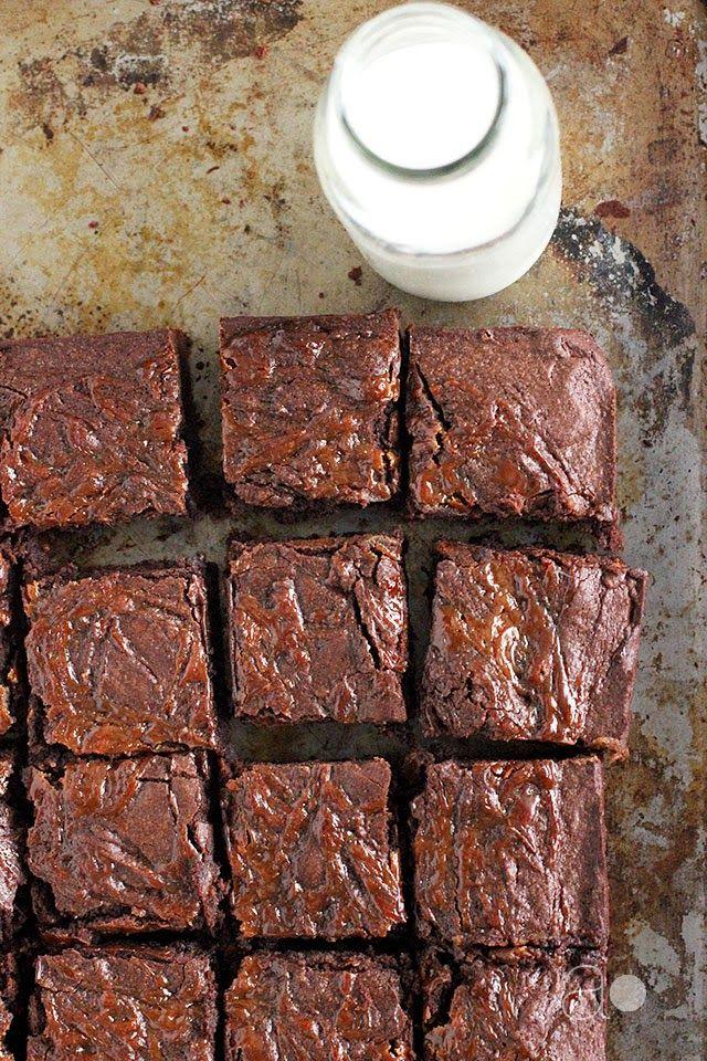 ambrosia: Dulce de Leche Brownies