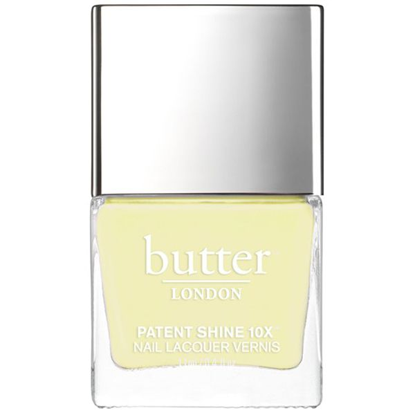 These Products Are Basically as Good as a Salon Pedi  - butter LONDON Patent Shine 10X Nail Lacquer in Lemon Drop  from InStyle.com