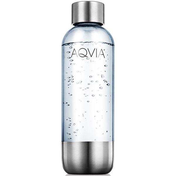 Vannflaske til kullsyremaskin | AGA, vannflaske stål 1l