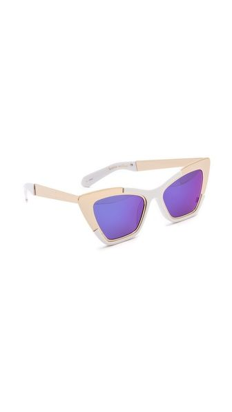 Karen Walker Siouxsie Sunglasses // giftofgarb.com