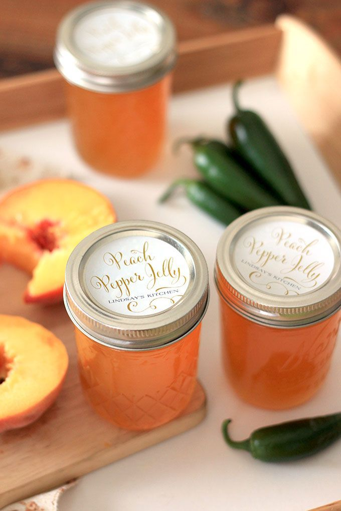 Peach Pepper Jelly Recipe