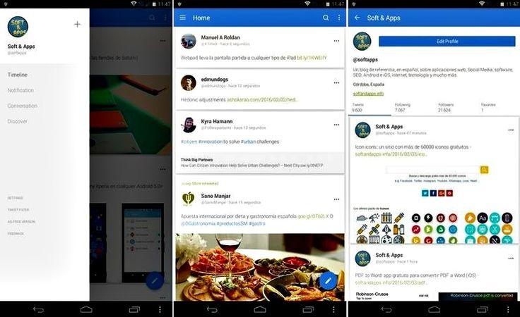 Giza for Twitter es un elegante y liviano cliente de Twitter para Android con muchas características y prestaciones para convertirse en tu preferido.