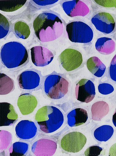 Watercolour Circles - Sarah Bagshaw