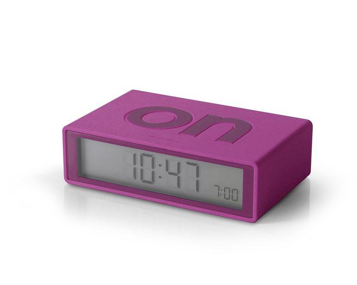 FLIP Alarm Clock (fuchsia)
