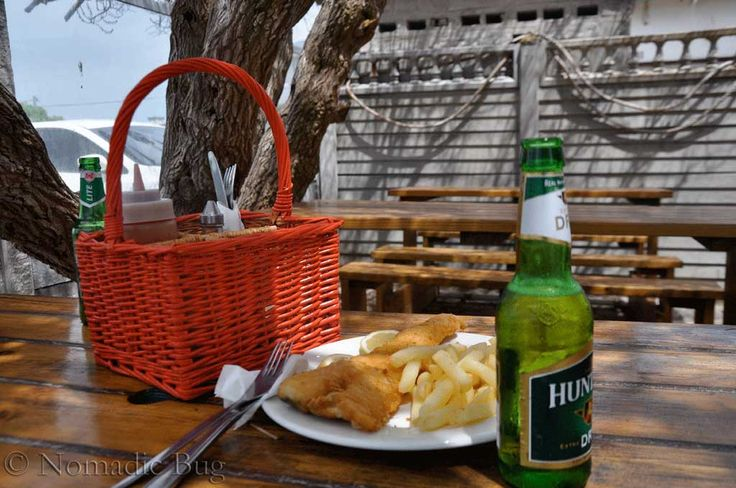 Traditional Fish & Chips, Cape Agulhas, South Africa Landmarks Nomadic Existence