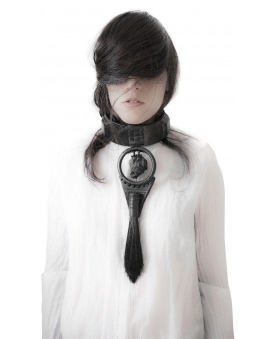 ONE OF A KIND COAL COLLAR