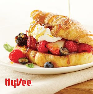 You can make French toast with any kind of bread, so why wouldn't you use croissants? Croissant French Toast with Berries and Cream is so fun for brunch.
