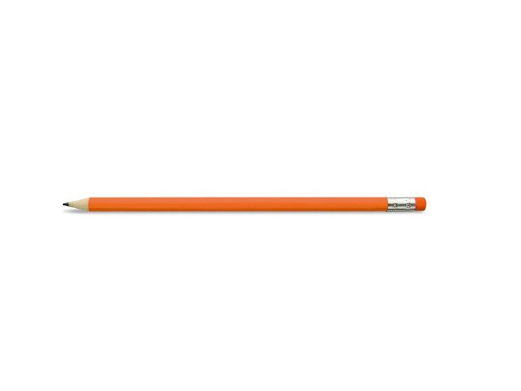 Lápis redondo pintado com borracha.Vendido à dúzia por cor.1 unidade corresponde a uma dúzia.Lápis afiados.Medidas:ø 0,7 x 19 cm