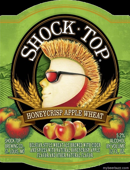 Shock Top - Honeycrisp Apple Wheat.  So yummy, it is hard to stop at just 1.
