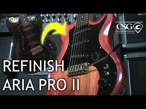Refinish: Aria Pro II Thor Sound - https://www.youtube.com/watch?v=5Jol6_fEjoA