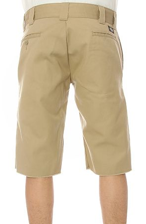The Slim Fit Cut Off Shorts in Khaki by Dickies