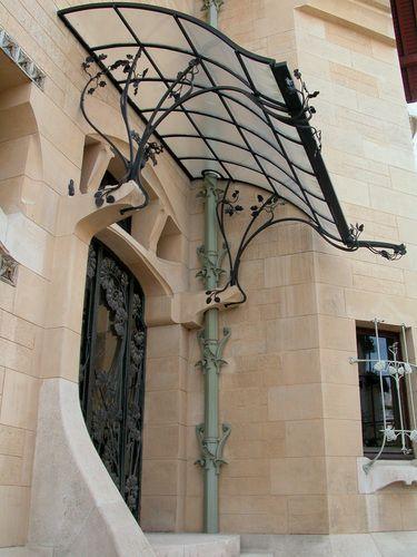 Nancy : Villa Majorelle, Rue Louis Majorelle