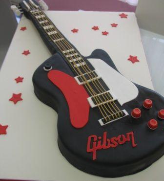 Gâteaux d'anniversaire pour musicien (guitariste, pianiste, chanteur…) – Cadeaux pour Musiciens