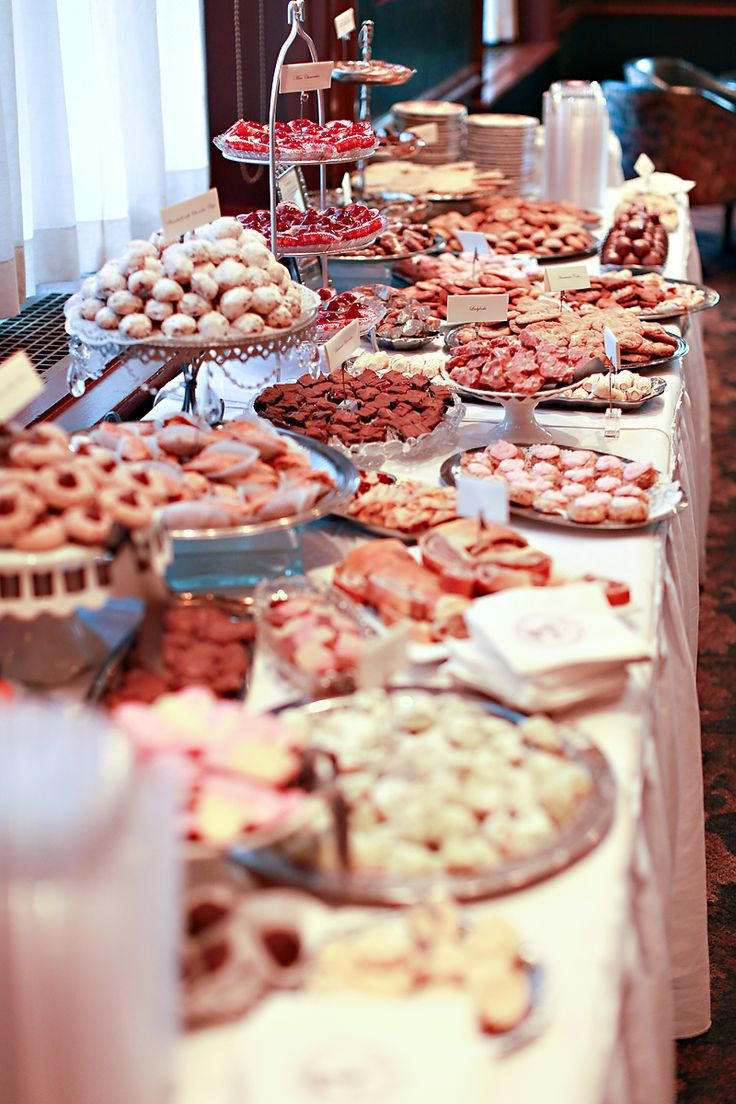 Wedding Cookie Table, a Pittsburgh tradition!