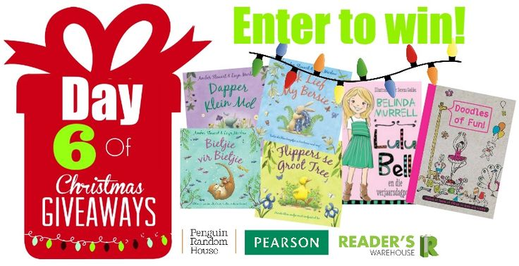 Day 6 Hamper from @PenguinBooksSA & Pearson Southern Africa is filled with gorgeous books perfect for your little reader.