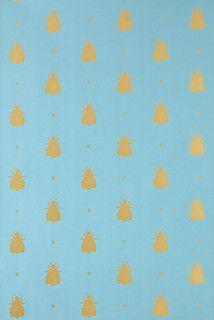 Bumblebee Wallpaper - contemporary - wallpaper - by Farrow & Ball