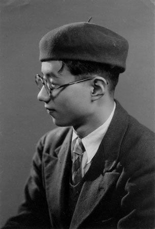 Young cool Osamu Tezuka - the creator of Astro Boy, Buddha, Ayako ...