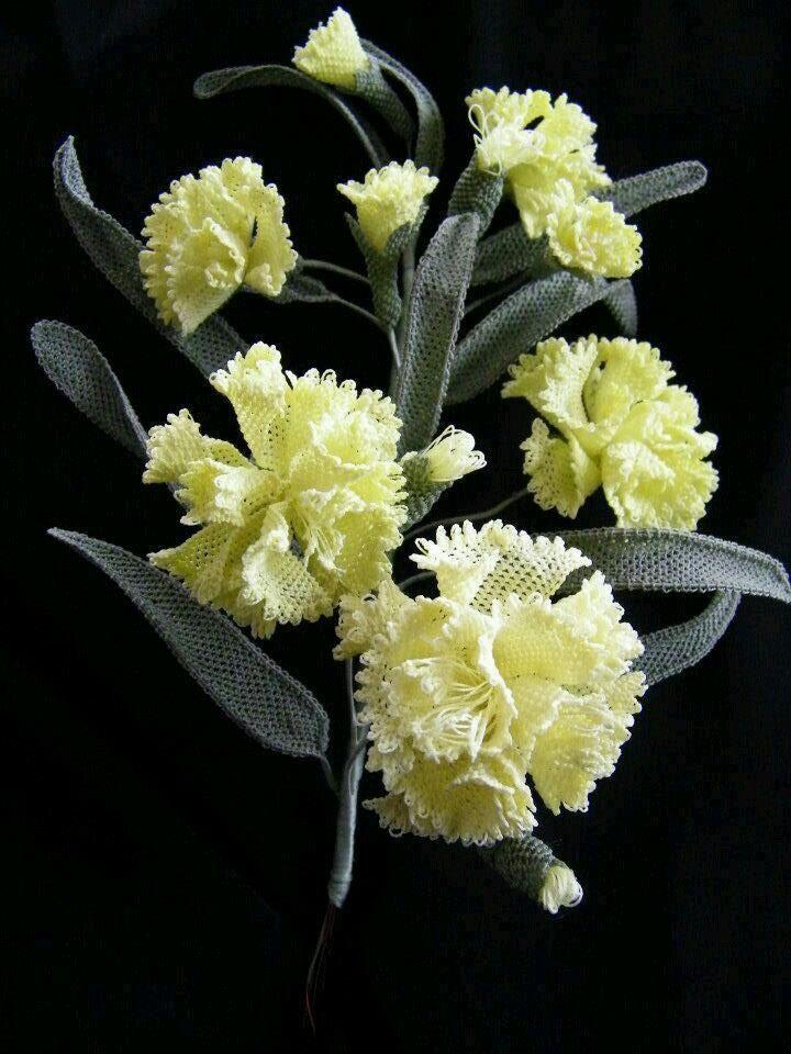 土耳其花边技术——刺绣编织花边 - maomao - 我随心动