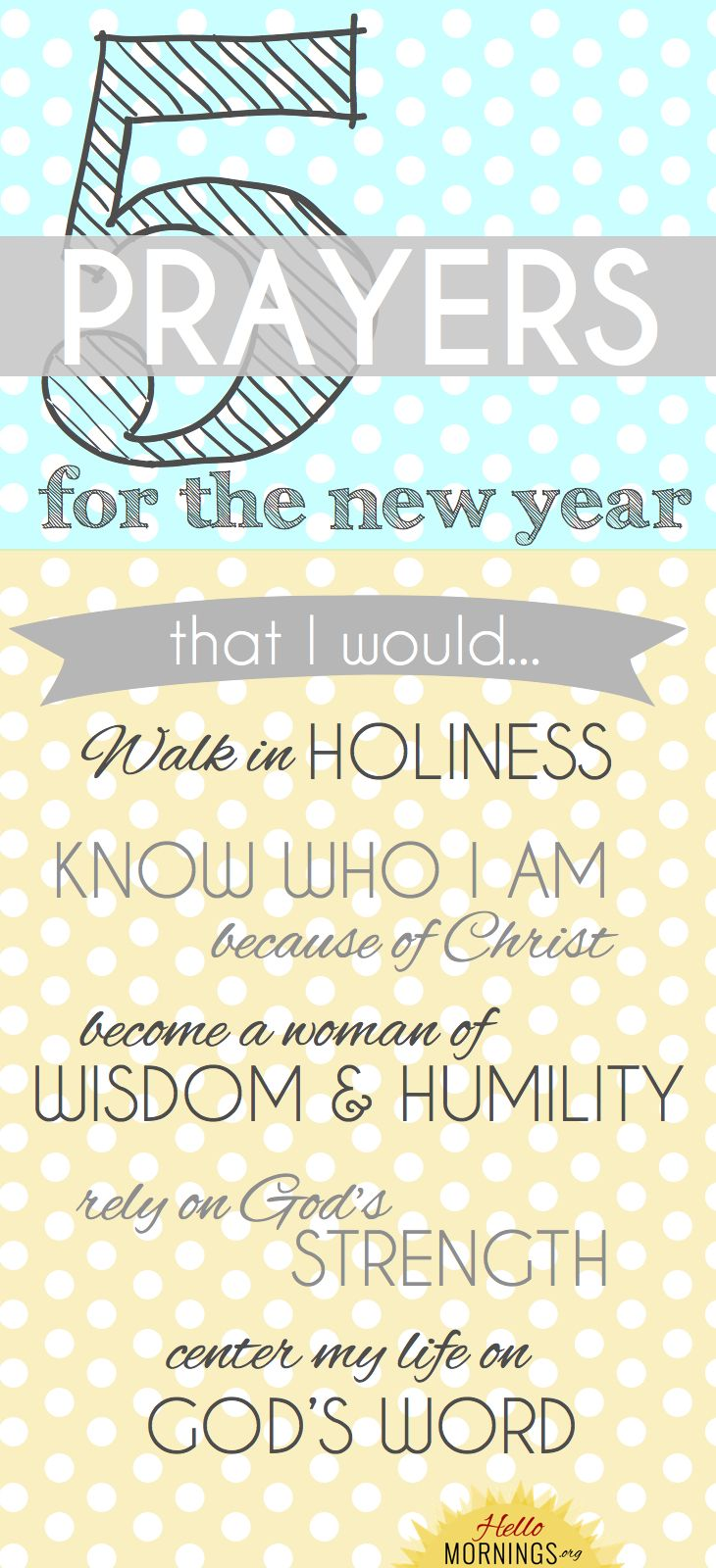 Get Ready {5 Prayers for the New Year}