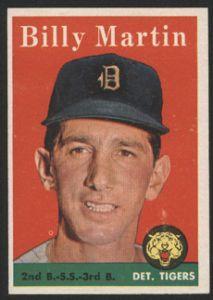 1958 Topps Baseball Cards | 1958 Topps Baseball Card 271 Billy Martin | eBay